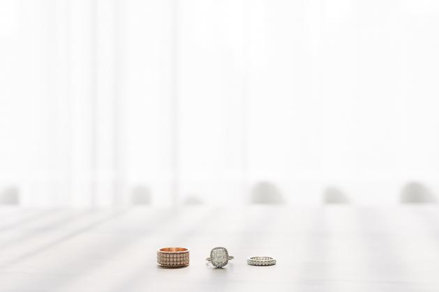 Wedding rings at Four Seasons Hotel Toronto