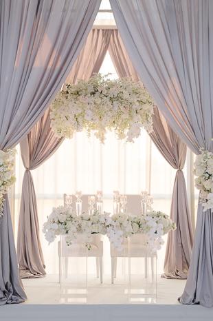 Four Seasons Hotel Toronto wedding reception decor photography