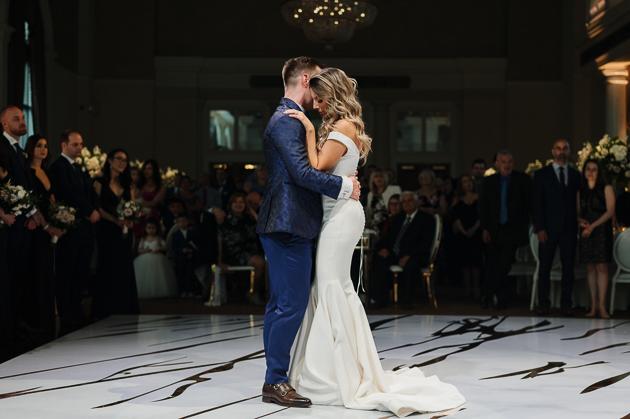 Romantic Liberty Grand wedding photos