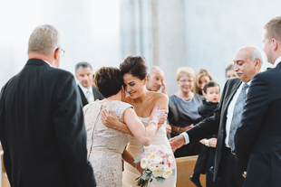 Trinity College wedding ceremony photos