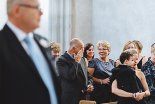 Trinity College wedding ceremony photos