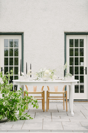 Modern and whimsical Guild Inn Estate wedding styled shoot