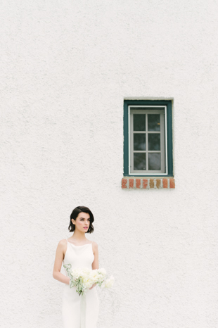 Modern and whimsical Guild Inn Estate wedding styled shoot