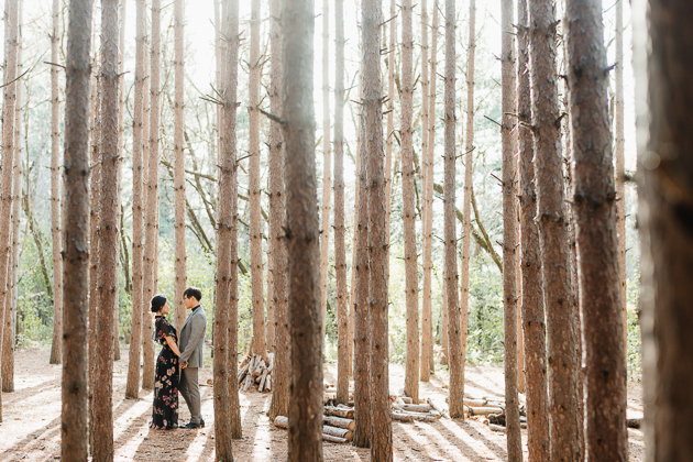Kortright Centre Fall engagement photos