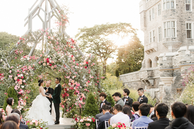 Fairytale Casa Loma wedding in Toronto