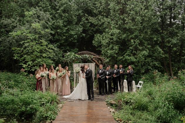 Boho-inspired Erin Estate wedding in Toronto