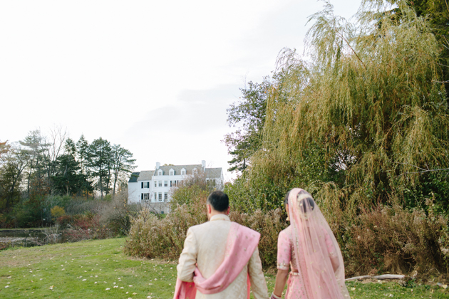 Modern Indian Harding Waterfront Estate wedding