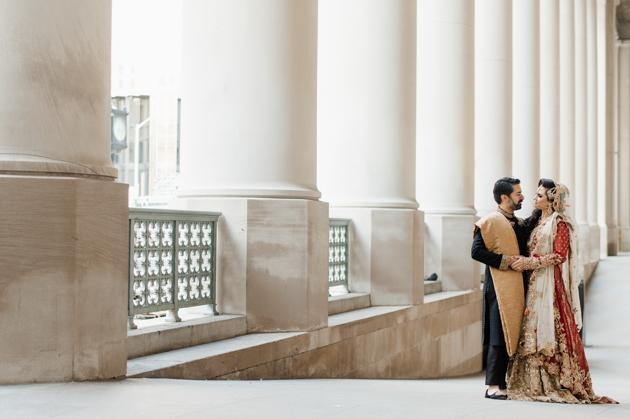 Union Station wedding photos