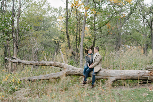 The High Park Engagement Photos That Will Stand The Test of Time