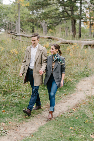 Take a look at these romantic High Park engagement photos