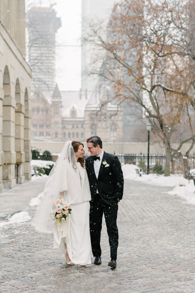 Osgoode Hall wedding photos in Toronto
