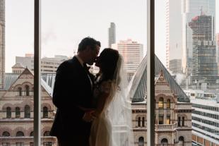 Arcadian Court wedding photography in Toronto