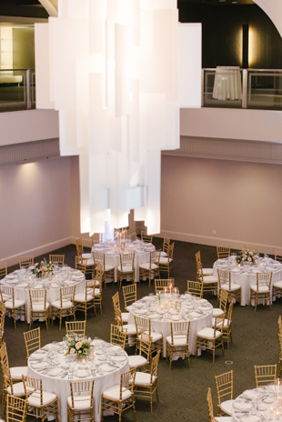 Arcadian Court wedding reception photos in Toronto
