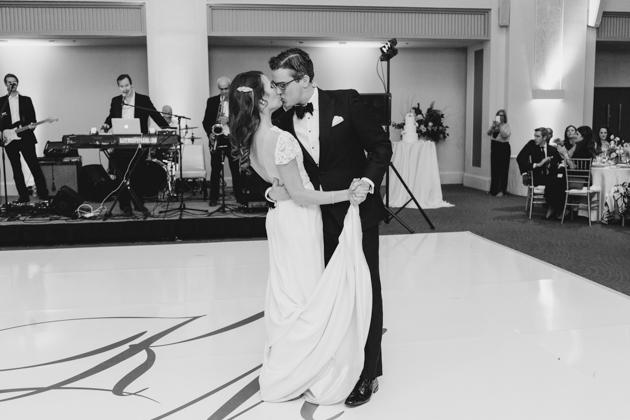 Arcadian Court wedding reception photos