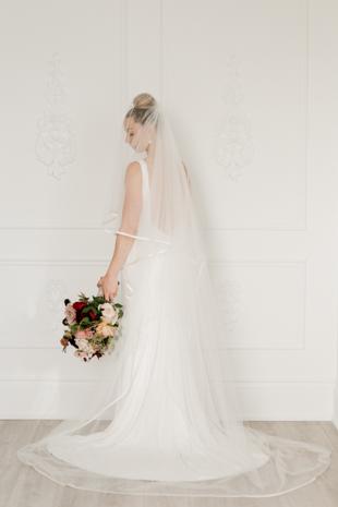 Our beautiful bride, Megan from Megan Wappel Designs