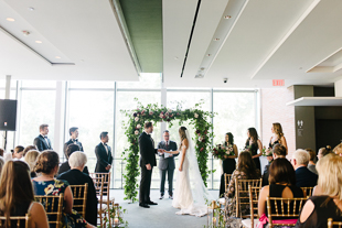 A beautiful Royal Conservatory of Music wedding ceremony