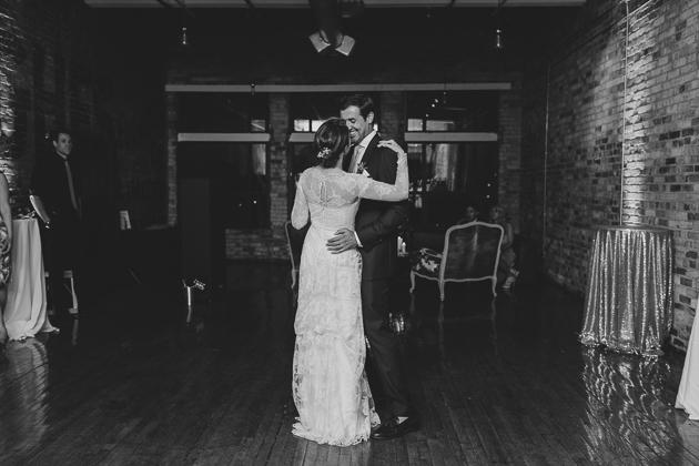 Burroughes Building wedding reception photos