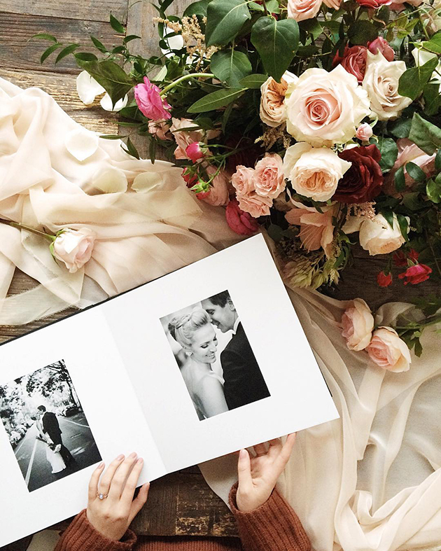 Print your wedding album in Toronto