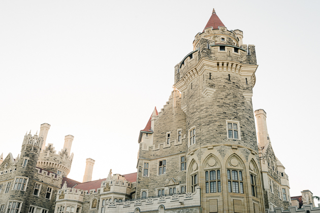 Beautiful Casa Loma wedding photos in Toronto