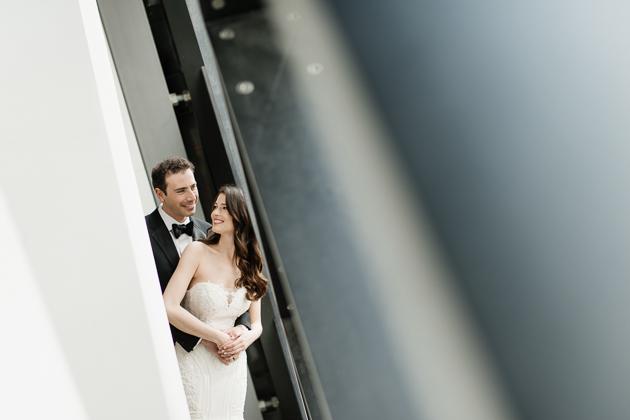 Royal Ontario Museum wedding photos