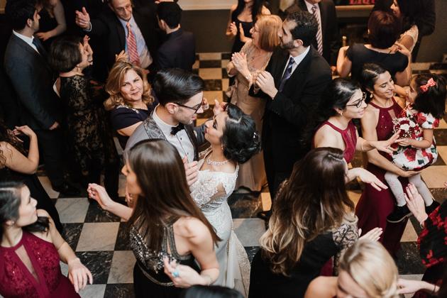 La Maquette wedding reception in Toronto