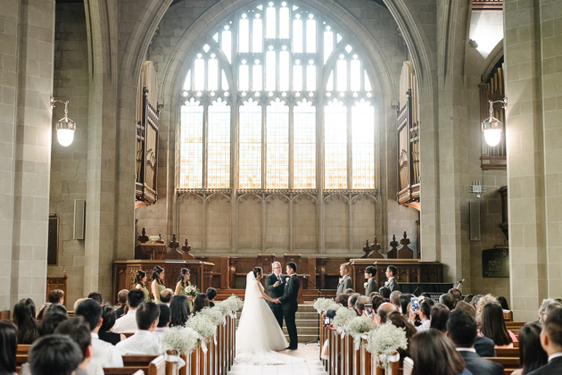 Knox College is one of the prettiest churches in Toronto to get married in