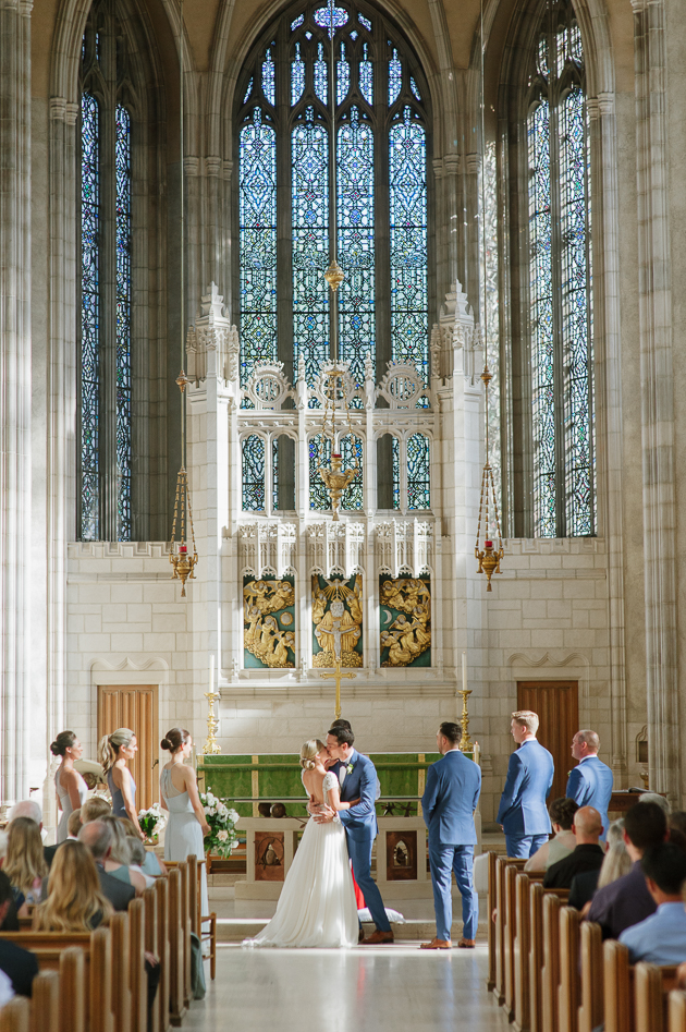 Knox College is one of the most beautiful churches in Toronto to get married in