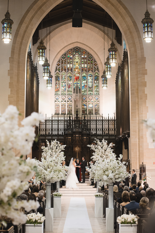 Metropolitan United Church is one of the most beautiful churches in Toronto to get married in
