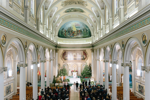 St. Paul's Basilica is one of the most beautiful churches in Toronto to get married in