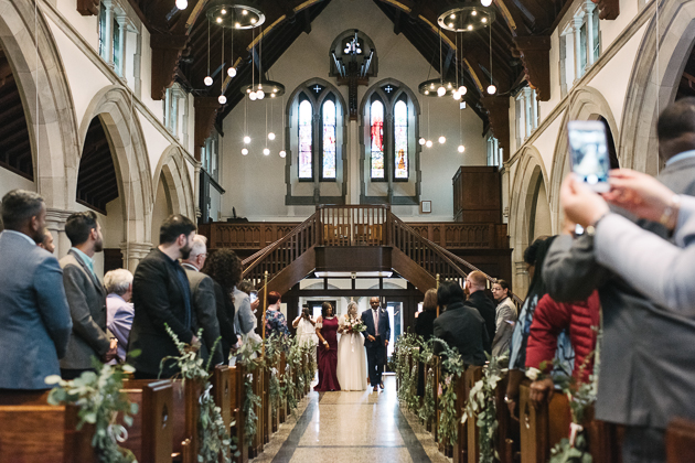 St. Clement's Church is one of the most beautiful churches in Toronto to get married in