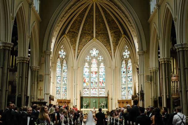The Cathedral Church of St. James is one of the most beautiful churches in Toronto to get married in