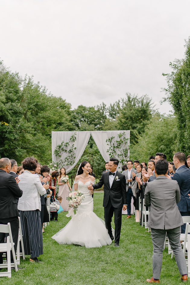 Graydon hall Manor wedding ceremony photos