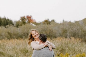 Schomberg Family Farm: Daneta and Brendan Engagement